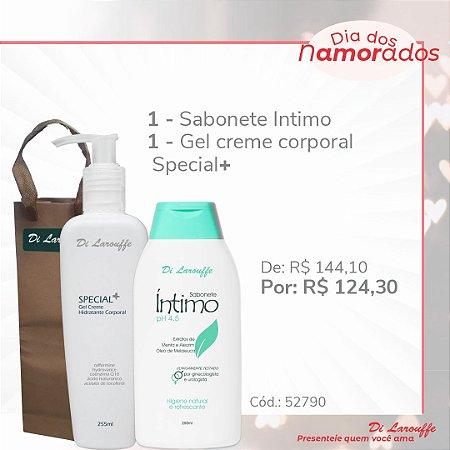 Sabonete Intimo e Gel Creme Hidratante Corporal Special+