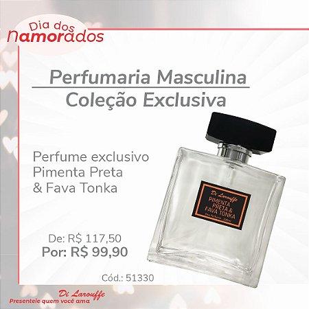 Perfume Masculino Exclusivo Di Larouffe Pimenta Preta & Fava Tonka
