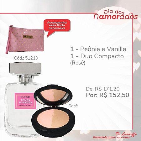 Perfume Peonia & Vanilla e Pó Duo comp. Rose