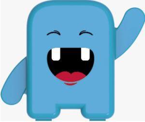 Álbum Dental - Azul - Para guardar os dentinhos