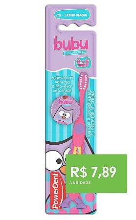 Escova Kids BUBU c/ Prot. e Ventosa  2 à 5 anos (6 Unidades)