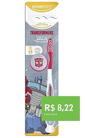 Escova Dental Transformers  + 5 anos