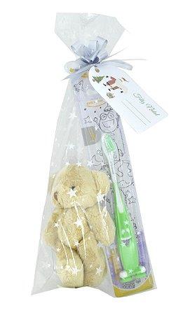 Brinde Smile Bear (escova + Pelucia chaveiro 10cm) (mínimo 12 pacotes)
