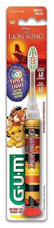 Escova Dental Lion king com Timer - Pisca por 60 segundos