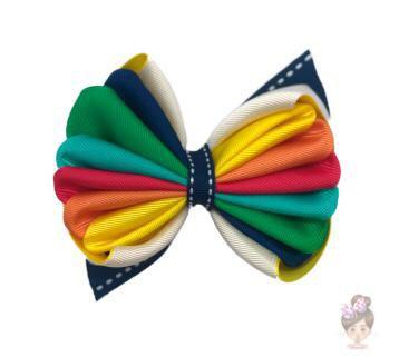 Laço de Cabelo Multicolorido