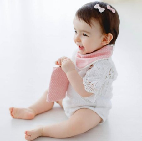 Laço de Colar Bebê Metallic