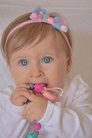 Faixa de Bebê Piscina de Bolinha