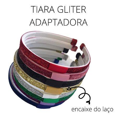 Tiara Gliter Adaptadora