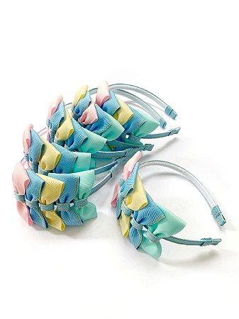 Tiara Laço Lis Candy Color