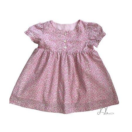 Vestido de Bebê Jardim