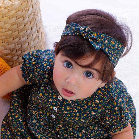 Vestido de Bebê Outono