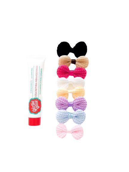 Kit Cola para Laços Girlie Glue - Crochê