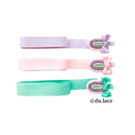 Kit Hair Clip Infantil  Picolé
