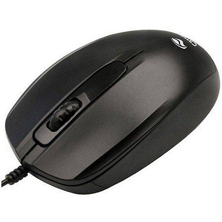 Mouse USB MS 30BK - C3 Tech - Preto
