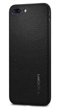 Capa para iPhone 7/8 Plus – Spigen Liquid Air, Anti-Impacto (preto)