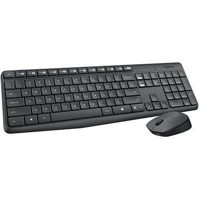 Kit Teclado + Mouse Sem Fio MK235 Logitech