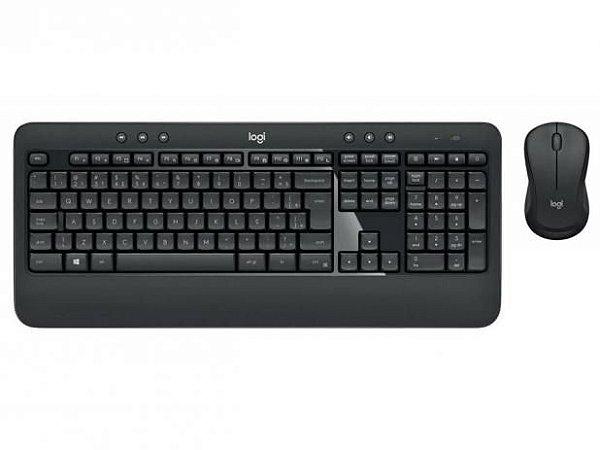 Kit Teclado + Mouse Sem Fio MK540 - Preto - Logitech