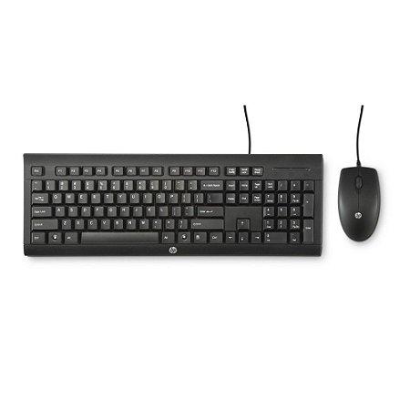 Kit Teclado + Mouse USB C2500 J8F15AA#AC4 HP
