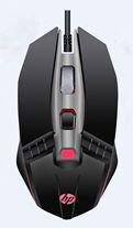 Mouse Gamer USB M270 2400DPI Led Preto HP