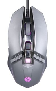 Mouse Gamer Usb M270 2400dpi Led Chumbo Hp