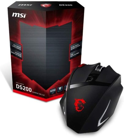 MOUSE GAMER LASER INTERCEPTOR DS200 MSI