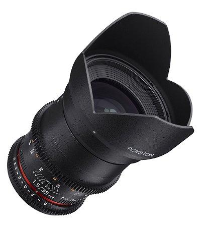 Rokinon 35mm T1.5 Cine DS Lens  (MFT Mount) - PN: DS35M-MFT