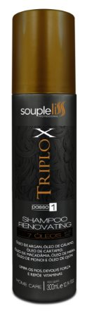 Shampoo Triplo X 300mL