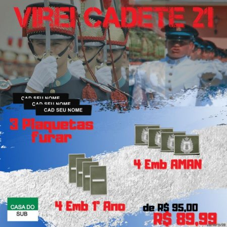 Kit Virei Cadete 21