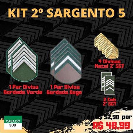 Kit 2º Sargento 5