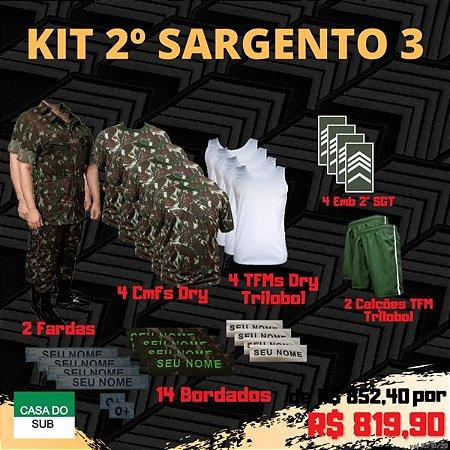 Kit 2º Sargento 3