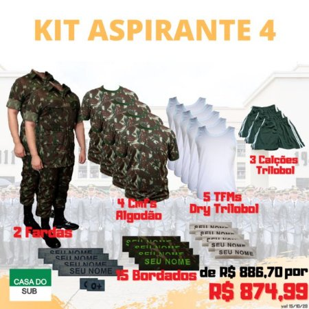 Kit Aspirante 4