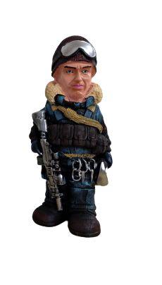 Cofre Boneco Militar - Combatente de Neve