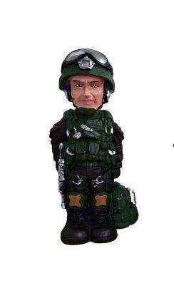 Cofre Boneco Militar - Verde