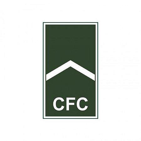 Emborrachado EB Gola Soldado do Efetivo Profissional Aluno CFC