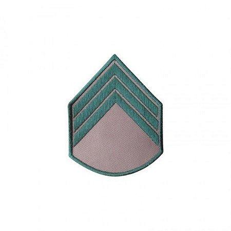 Bordado EB Divisa da Camisa Bege 3 Sargento