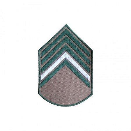 Bordado EB Divisa da Camisa Bege 2 Sargento