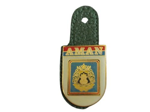 Metal EB Distintivo de Bolso AMAN