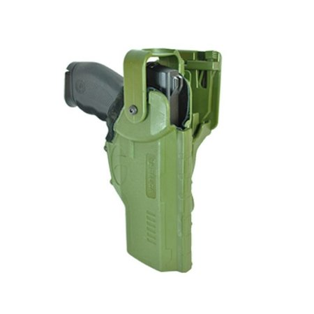 Coldre Hammer I de Coxa em Polímero Bélica Verde