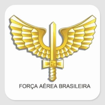 Adesivo Força Aérea Brasileira grande