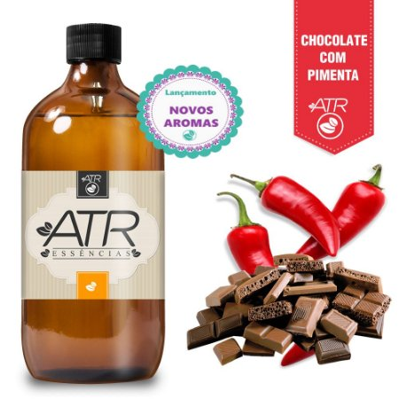 Essência Aromática Concentrada Hidrossolúvel Chocolate Com Pimenta 1 Litro