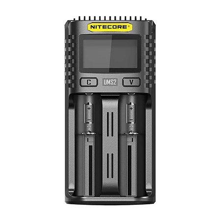 Carregador de Baterias UMS2 - Nitecore