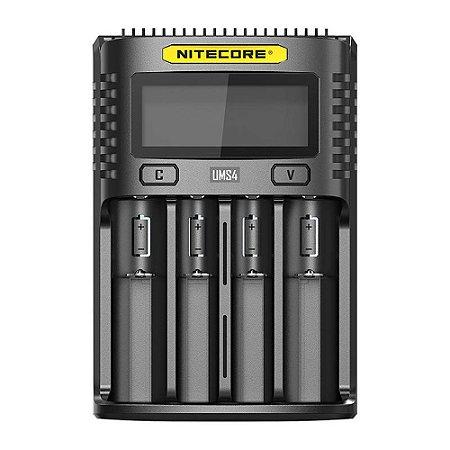 Carregador de Baterias UMS4 - Nitecore