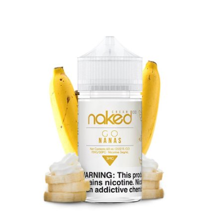 Líquido Juice Cream Go Nanas - Naked