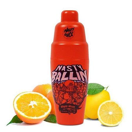 Líquido Juice Ballin Migos Moon Orange Low Mint - Nasty
