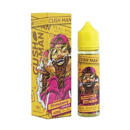 Líquido Juice Cush Man Mango Strawberry Low Mint - Nasty