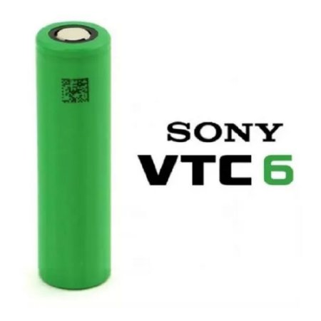 Bateria 18650 Sony VTC6 3000mAh High Drain 30A - Sony