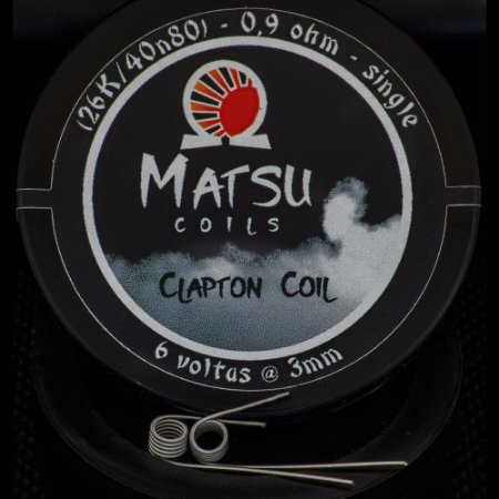 Resistência Clapton Coil 2x - Matsu Coils