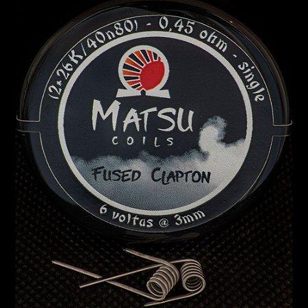Resistência Fused Clapton 26k 2x - Matsu Coils