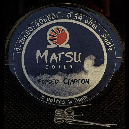 Resistência Fused Clapton 26N 2x - Matsu Coils