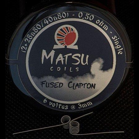 Resistência Fused Clapton 28n 2x - Matsu Coils